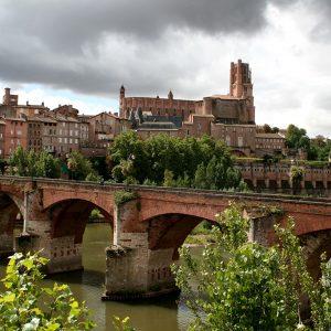 Albi, la cité épiscopale, classée au patrimoine mondial de l'UNESCO