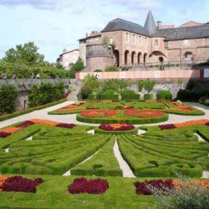 Les jardins de la Berbie à Albi.