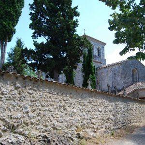 Le typique petit village de Roumanou